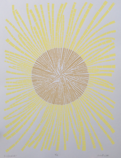 "Christina Roth, Left:  It's a Force Field, 14"" x 18"", 2012"