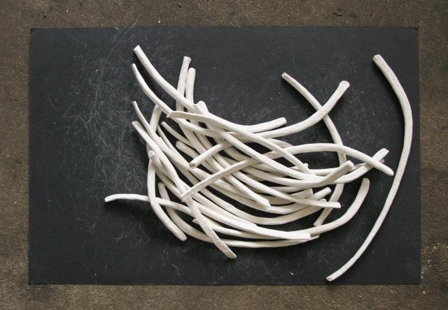 bone drawing process shot
