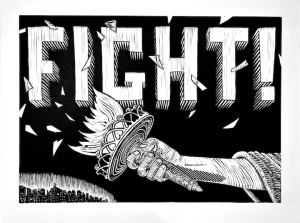 Ready to Fight print small